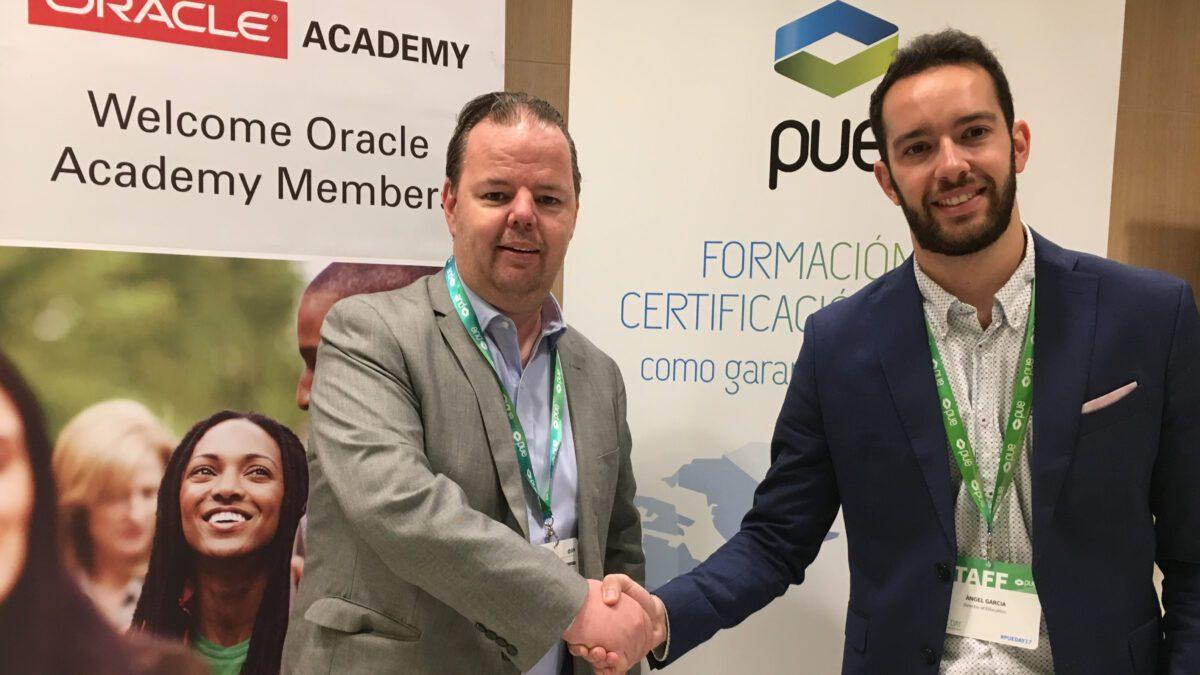 PUE, partner exclusivo en España para la divulgación de Oracle Academy