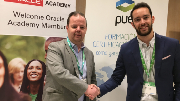 PUE, exclusive partner in Spain for the promotion of Oracle Academy