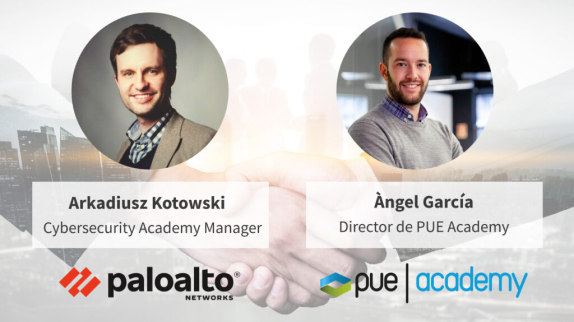 PUE Academy nombrado partner exclusivo de Palo Alto Networks Cibersecurity Academy en España