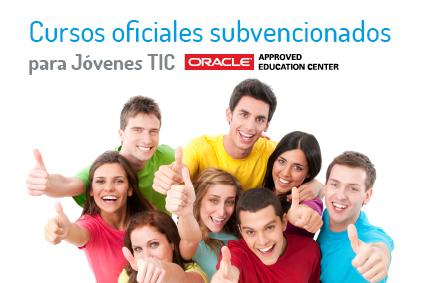 PUE participa en el proyecto Jóvenes TIC con cursos oficiales subvencionados en tecnologías Oracle