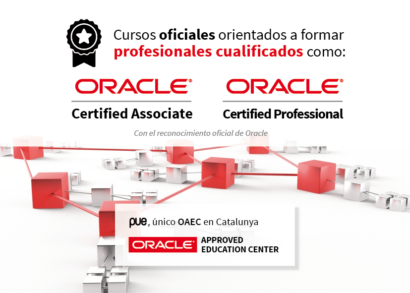 Oracle reconoce a PUE como su único partner de formación oficial en Cataluña