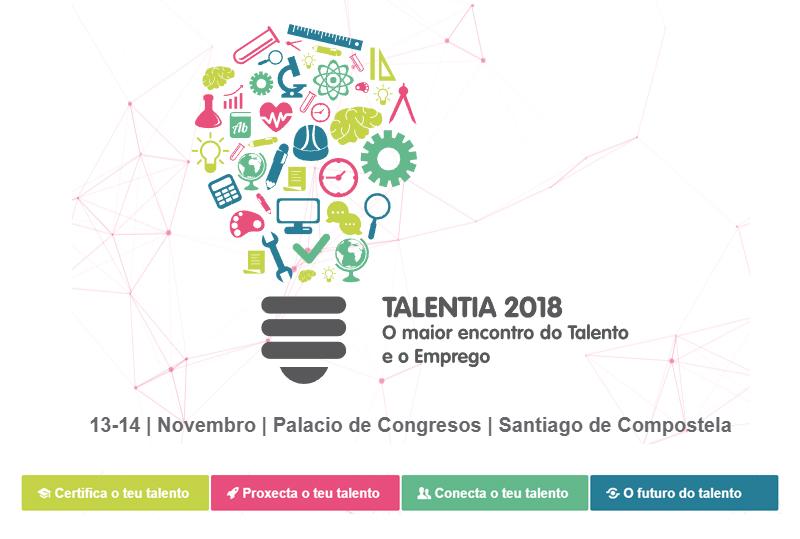 Éxito de la jornada de certificación oficial TIC organizada por el Ayuntamiento de Santiago en su  Feria del Talento y del  Empleo Talentia 2018
