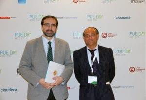 Juan G¢mez, Rector de la Universidad de JaÇn y Presidente de la Sectorial TIC de CRUE 2