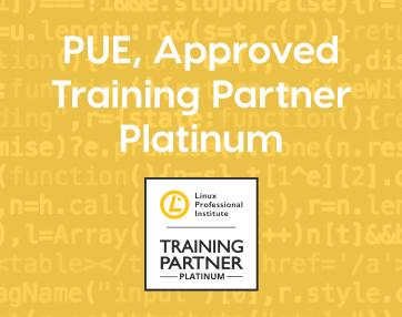 LPI otorga a PUE el reconocimiento máximo como partner de formación, Approved Training Partner Platinum