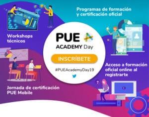 PUE Academy Day 2019 infografia