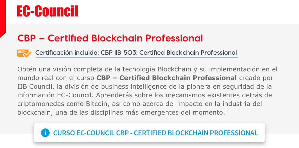 CBP-Certified Blockchain Professional