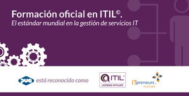 PUE lanza su nuevo itinerario completo de formación oficial en ITIL©, el estándar mundial en la gestión de servicios IT
