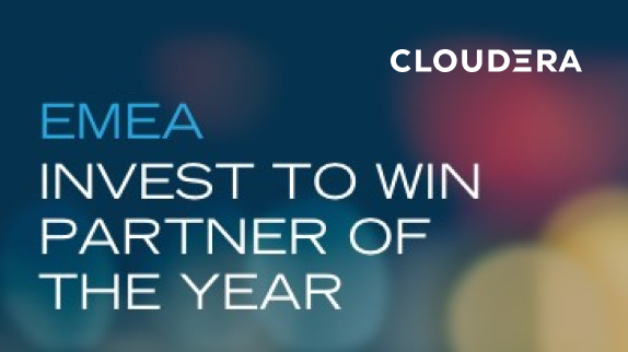 PUE is recognized as Cloudera's Invest to Win Partner