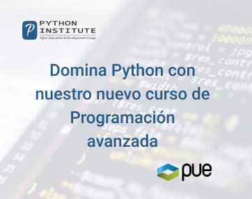 Domina Python con nuestro nuevo curso de Programación avanzada en Python