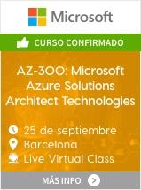AZ-300: Microsoft Azure Solutions Architect Technologies