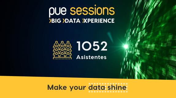 PUE Sessions, el evento sobre tendencias Big Data y Cloud cierra su edición anual con éxito de participación