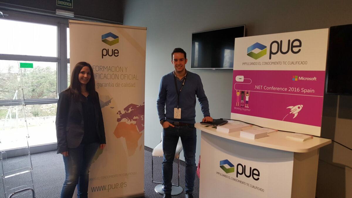 PUE colabora en el mayor evento .NET celebrado en España